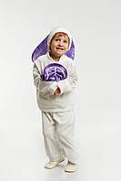 Детский костюм Заяц - зайчишка, рост 90-110 см,
