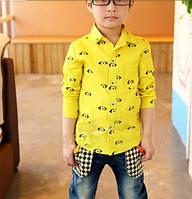 Стильная рубашка   на мальчика ДО-36-О, фото 1
