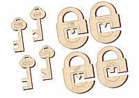 Замочки и ключики, набор 1, 063201
