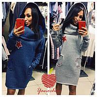 Теплое платье 551 Семер