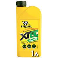 Bardahl XTec 5w40 синтетическое масло