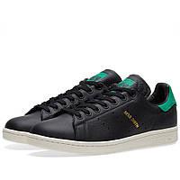 Оригинальные кроссовки Adidas Stan Smith Core Black & Green