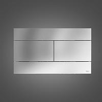 Кнопка слива для подвесного унитаза СЛИМ 3/6 Oli хром (659044) в Днепре