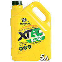 Моторное масло Xtec 5w40 синтетическое Bardahl