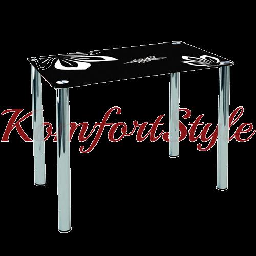 Стол стеклянный кухонный Концепт