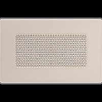 Решітка вентиляційна Графітова (фарбована) 11*17