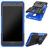 Чехол накладка для Lenovo P2 P2a42 противоударный с подставкой, Синий, фото 2