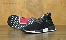 Мужские кроссовки AD NMD XR1 MMJ Mastermind Black. ТОП Реплика ААА класса., фото 2