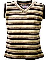 Пуловер детский Бежево- коричневый