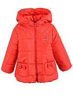 Детская демисезонная куртка Zarina красная