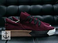 Мужские кроссовки Adidas Alexander Wang burgundy