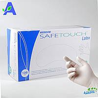 Перчатки латексные Medicom SafeTouch Latex без пудры нестерильные 100 шт в упаковке