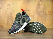 Мужские кроссовки Adidas NMD XR1 Duck Camo Olive Cargo, фото 3