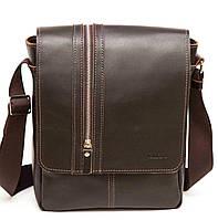 Мужская сумка через плечо VATTO MK28Кaz400 коричневая