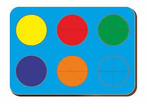 Дроби, Б.П.Никитин, 6 кругов, ур.1, 240*170 мм, 061201