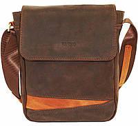 Мужская сумка через плечо VATTO Mk28.1Kr450.190 коричневая