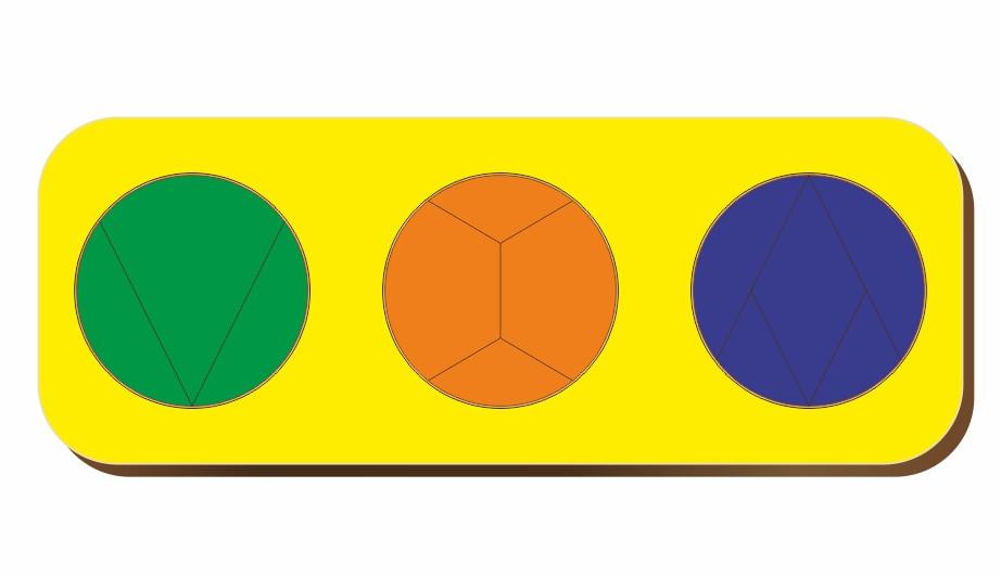 Дроби, Б.П.Никитин, 3 круга, ур.3, 240*90 мм, 061105