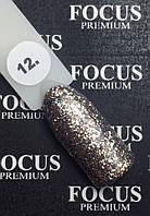 Гель-лак FOCUS PREMIUM TITAN № 12, 8 мл