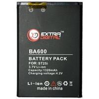 Аккумулятор для мобильного телефона ExtraDigital Аккумулятор для Sony Ericsson BA600 (1320 mAh) - BM