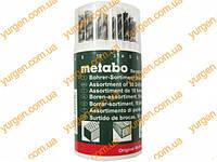 Metabo Набор свёрл Metabo (по камню, дереву, металлу, 18шт.тубус).