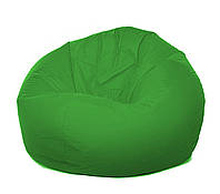 Пуф груша XXL зеленого цвета