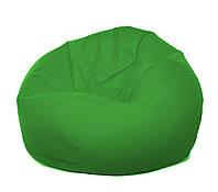 "Пуф кресло ""Груша XL"" зеленого цвета"