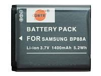 Аккумулятор для фотоаппарата Samsung BP88A, 1400 mAh.