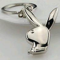 Брелок в виде символа Playboy кролика металл SKU0000844, фото 1