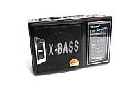 Радиоприемник Golon RX-166 LED, флешки USB, карты памяти microSD, фонарик, мощное радио, портативная акустика