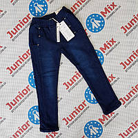 Детские котоновые теплые брюки для девочек оптом