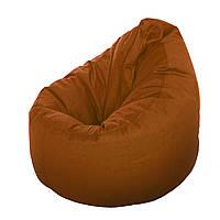 Кресло-мешок Груша XL шоколадного цвета