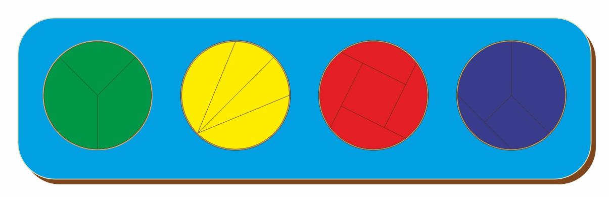 Дроби, Б.П.Никитин, 4 круга, ур.5, 300*90 мм, 061405