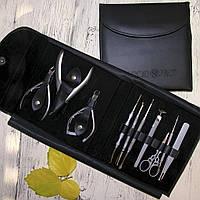 Набор инструментов для маникюра и педикюра в чехле Cuccio Pro