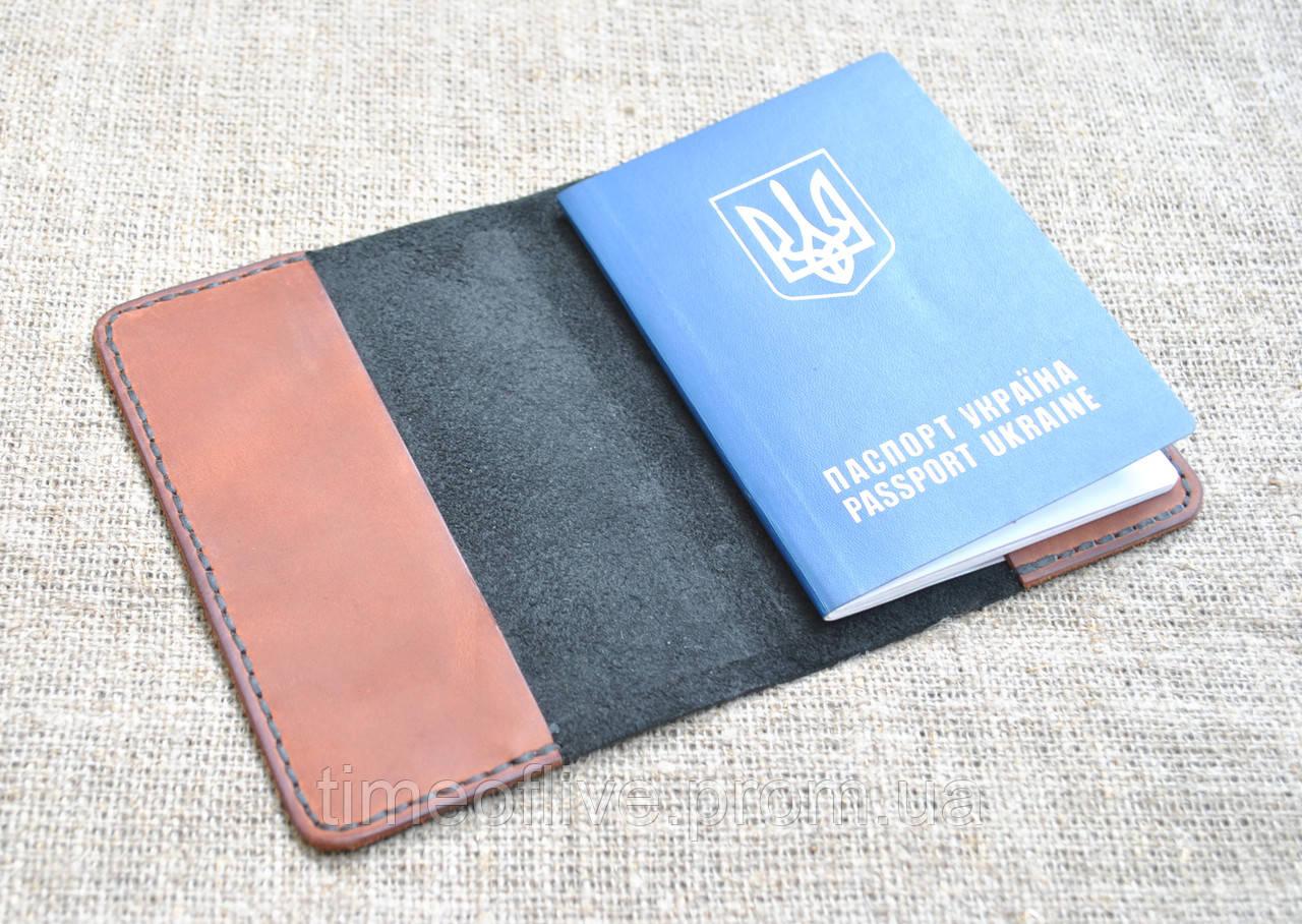 887284056887 Кожаная обложка для паспорта ручной работы, цена 150 грн., купить в ...