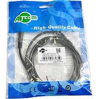 Аудио-кабель Atcom mini-jack 3.5мм(M) to mini-jack 3.5мм(M) 1,8м пакет