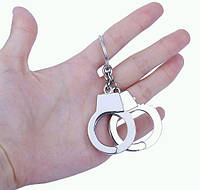 Брелок в виде 2-х наручников металл SKU0000846, фото 1