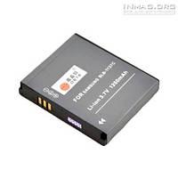 Аккумулятор для фотоаппарата Samsung SLB-1137C, 1250 mAh.