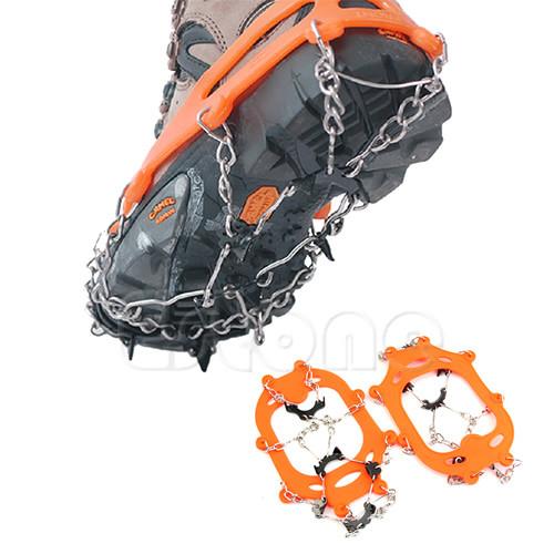 Ледоступы ледоходы на обувь для хождения по льду зимой!
