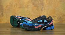 "Мужские кроссовки Raf Simons x Consortium Ozweego 2 ""Black/Brown/Blue"". ТОП Реплика ААА класса., фото 3"