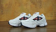 Мужские кроссовки Raf Simons x Consortium Ozweego 2 White. ТОП Реплика ААА класса., фото 3