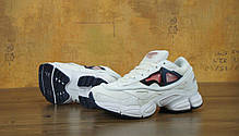 Мужские кроссовки Raf Simons x Consortium Ozweego 2 White. ТОП Реплика ААА класса., фото 2