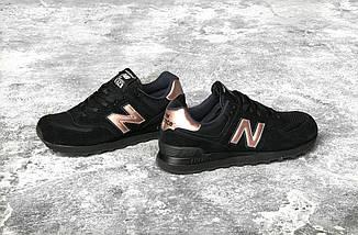 """Женские кроссовки New Balance 574 """"Molten Metal Black"""", фото 3"""