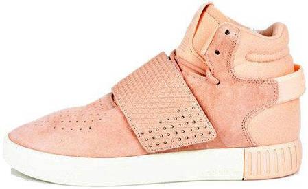 Женские кроссовки Adidas Tubular Invader Pink, фото 2