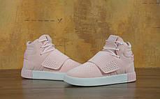 Женские кроссовки Adidas Tubular Invader Pink, фото 3