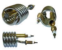 Тэн (нагреватель) нержавейка 2kW/ 220V/ штуцер Ø10мм (спиралевидный) для проточных смесителей-водонагревателей