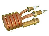 Тэн (нагреватель) медный 3 kW/ 220V/ штуцер Ø10мм (спиралевидный) для проточных смесителей-водонагревателей