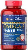 Комплекс незаменимых жирных кислот Puritan's Pride Omega 3 Fish Oil 1200 mg (90 капс)