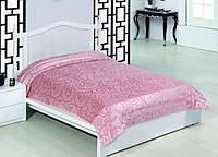 Покрывало бамбуковое Велюр-махра, розовое, фото 1