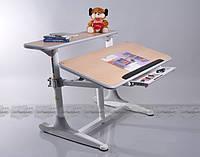 Набор школьной мебели Mealux: BD-405 + Y-718, maple столешница клен/ ножки белые (MEAL-P68004-1)