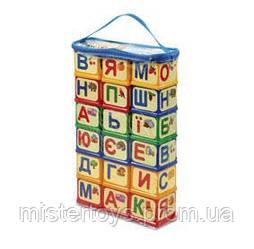 Кубики Абетка Юника 18 шт